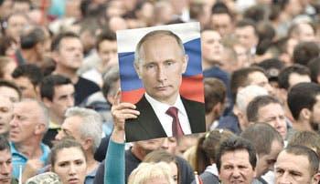 Putin amenaza a Europa con reducir el gas