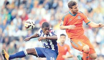 Valencia cede segunda casilla