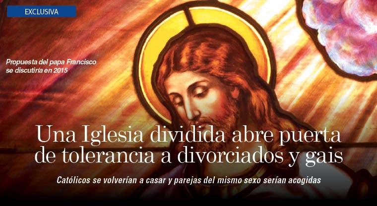 Una Iglesia dividida abre puertas a divorciados y gais