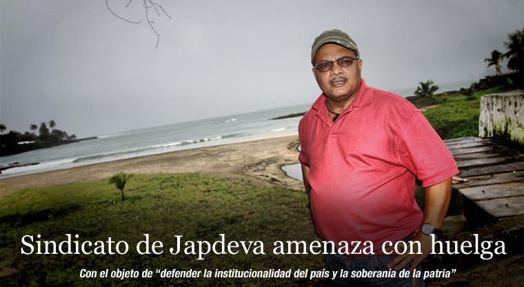 Sindicato de Japdeva amenaza con huelga