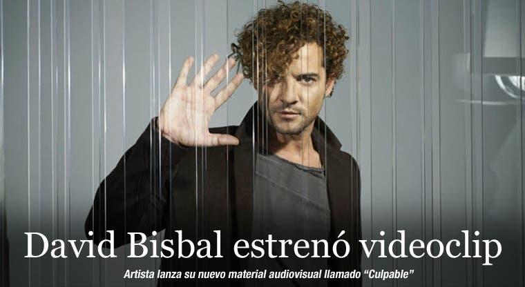 David Bisbal estrenó videoclip