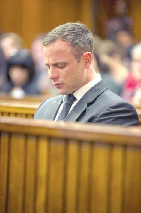 Pistorius, cinco años a prisión