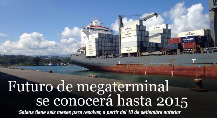 Futuro de megaterminal se conocerá hasta 2015