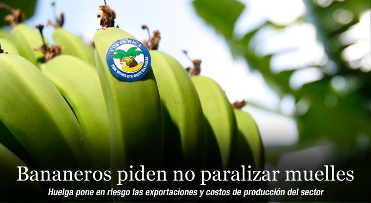 Bananeros piden no paralizar muelles