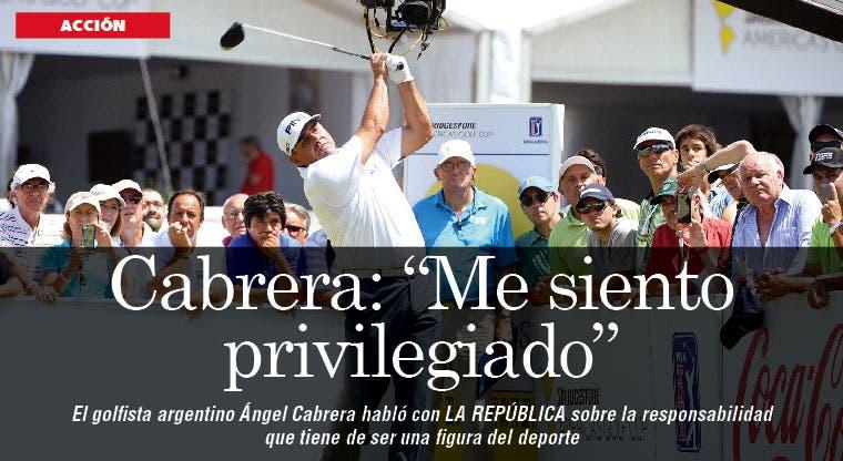 """Cabrera: """"Me siento privilegiado"""""""