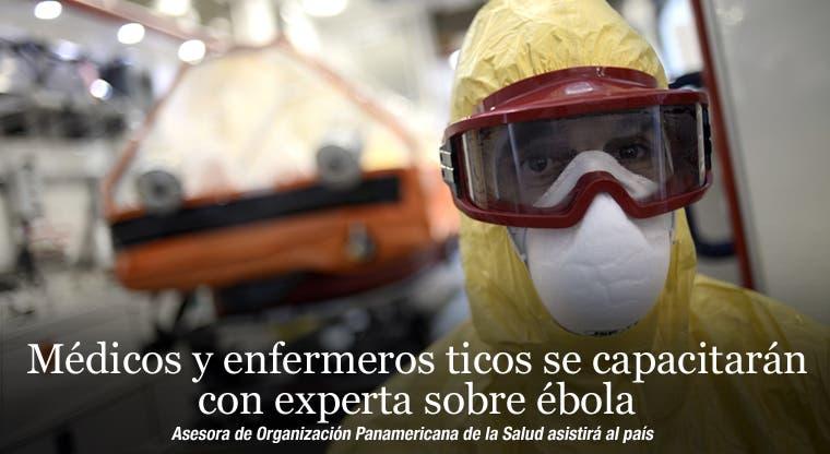 Médicos y enfermeros ticos se capacitarán con experta sobre ébola