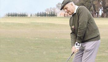 Una leyenda del golf