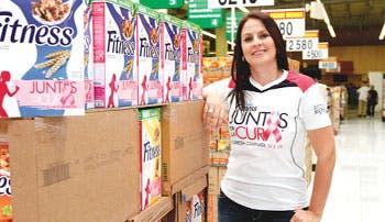 Nestlé correrá contra el cáncer de mama