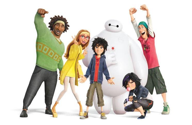 """Disney se inspira en Japón para """"Big Hero 6"""""""