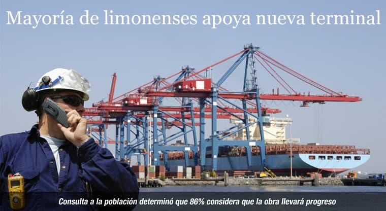 Mayoría de limonenses apoya nueva terminal