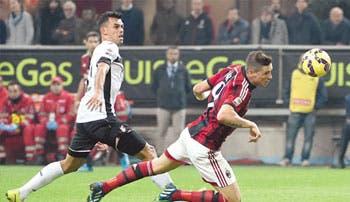 """Palermo golpea con """"Pipo"""""""