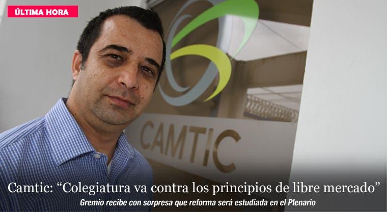 """Camtic: """"Colegiatura va contra los principios de libre mercado"""""""