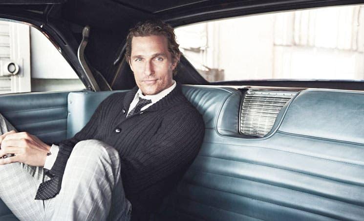 """McConaughey: """"Siento que no he tocado techo"""""""