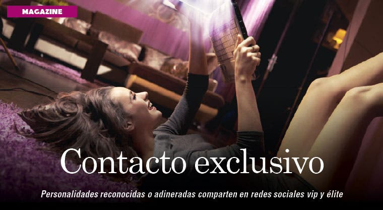 Redes sociales de lujo