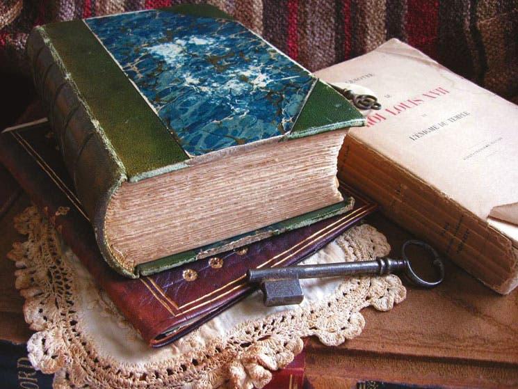 Rescate sus libros antiguos