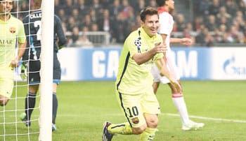 Messi devuelve la sonrisa