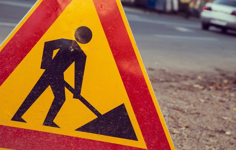 Construcción de muro para paso desnivel inicia el domingo