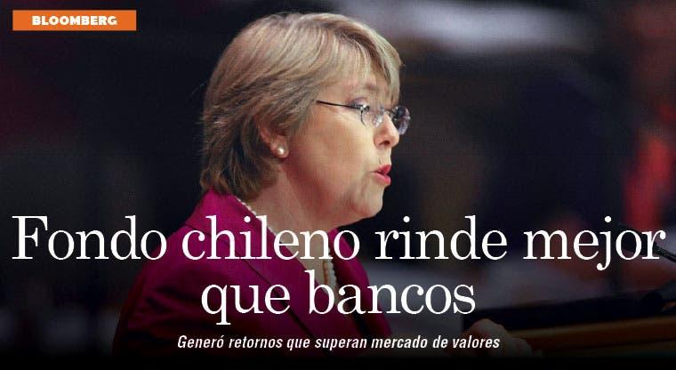 Fondo chileno rinde 10% en préstamos mejor que los bancos