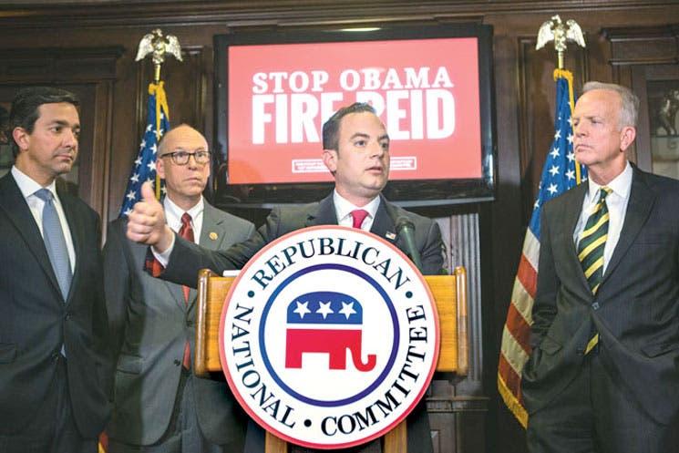 Líderes republicanos del nuevo Congreso adelantan su agenda