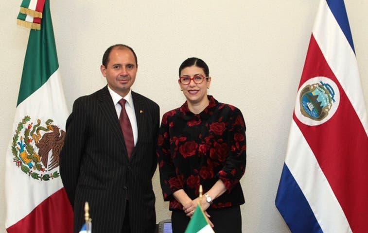 Vicecancilleres de México y Costa Rica revisan agenda bilateral