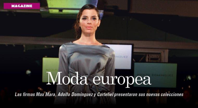 Moda europea desfila en Costa Rica