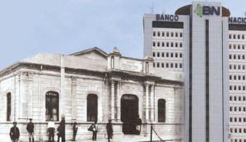 Banco Nacional hoy festeja centenario
