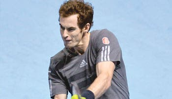 Murray hace esperar a Federer