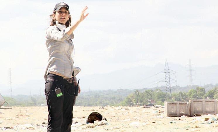 Erika Bagnarello graba su tercer documental