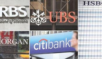 EE.UU, Suiza y Reino Unido multan a cinco bancos por manipular divisas
