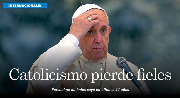 Catolicismo cae en Latinoamérica mientras protestantes ganan peso