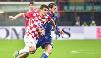 Croacia sale intacta de Italia