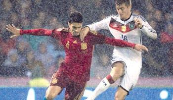 Kroos ahogó a España