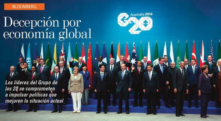 Aumenta decepción por el crecimiento global