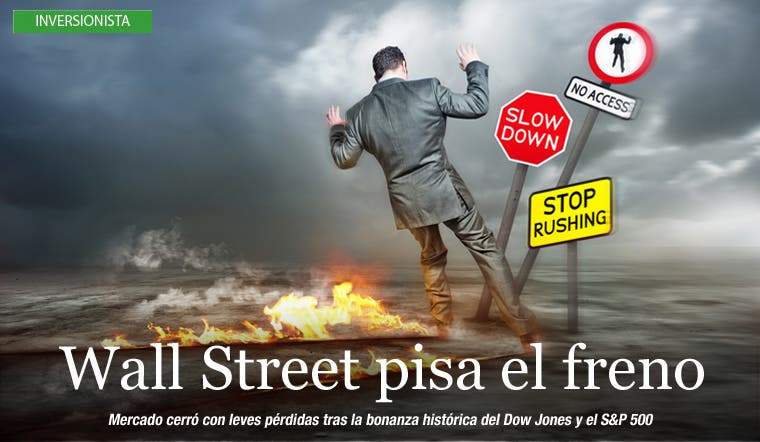 Wall Street pisa el freno