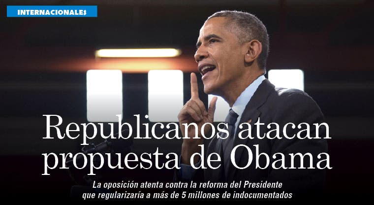 Desafío migratorio de Obama fuerza a oposición medir su contraataque