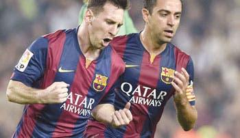 Messi, amo y señor de la Liga