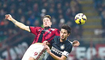 Milan e Inter se frenan