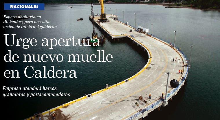 Urge apertura de nuevo muelle en Caldera