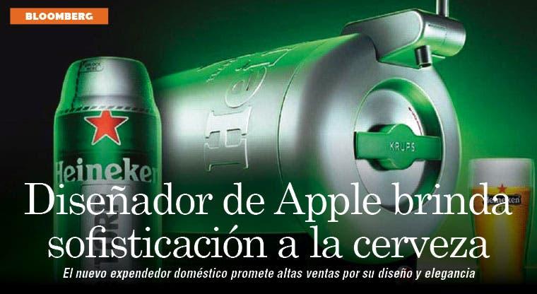 Diseñador de Apple brinda sofisticación a la cerveza