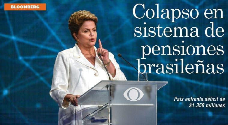 Brasil enfrenta alto déficit en sistema de pensiones