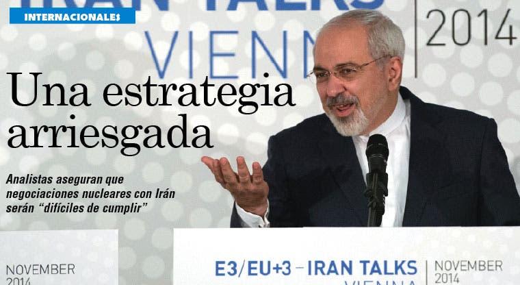 Negociaciones con Irán figuran como una estrategia arriesgada