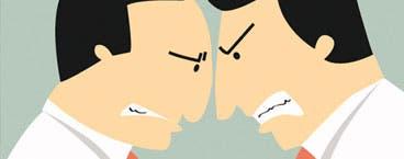 Resuelva un conflicto con su colega