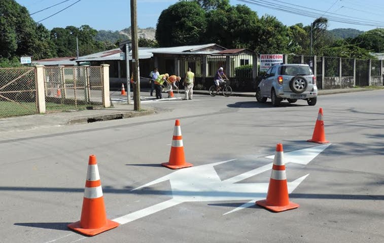 Nicoya invirtió ¢41,8 millones en reordenamiento vial
