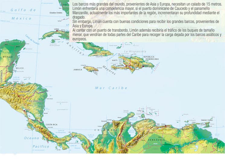 Limón podría ser un centro logístico regional