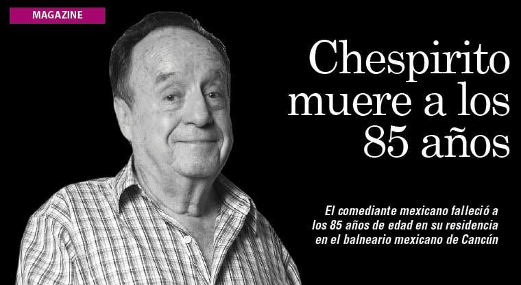 Chespirito muere a los 85 años