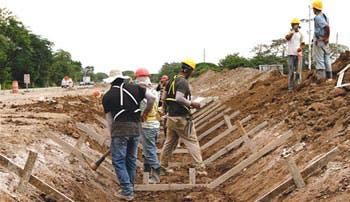 Obras urgentes retan al Gobierno