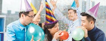 Celebre el fin de año sin afectar su productividad