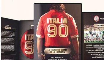 "Cinta tica ""Italia 90"" salió a la venta"