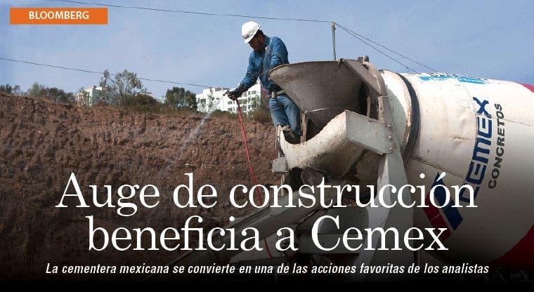 Auge de la construcción en EE.UU. vuelca atención en Cemex