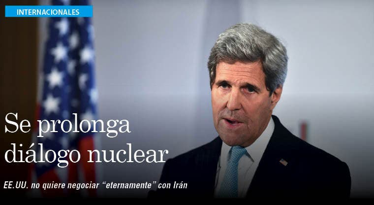 """EE.UU. dice a Israel que no negociará """"eternamente"""" con Irán sobre plan nuclear"""
